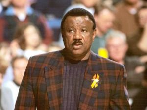 Nolan Richardson, former head basketball coach at Arkansas.