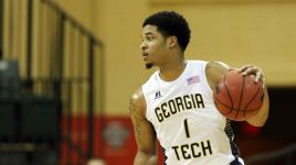 Georgia Tech emerges with scrappy, 61-54 win over Rider