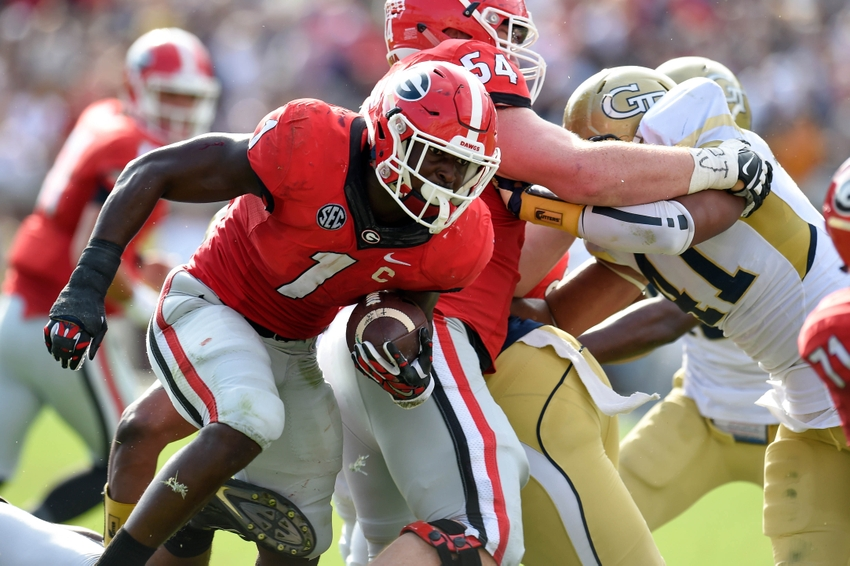 Sony-michel-ncaa-football-georgia-georgia-tech