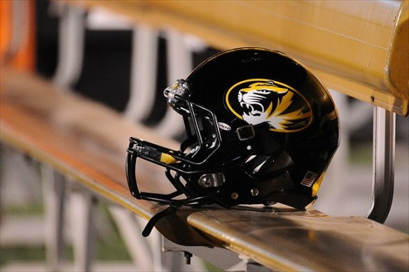 Image result for missouri tigers football helmet