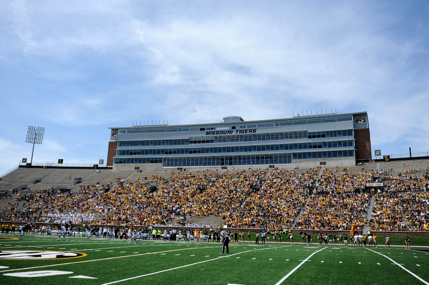 Gold-game-ncaa-football-missouri-spring-game