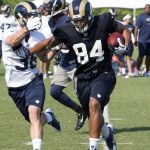 Justice Cunningham St. Louis Rams