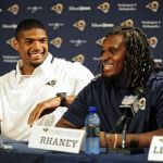 St. Louis Rams Demetrius Rhaney