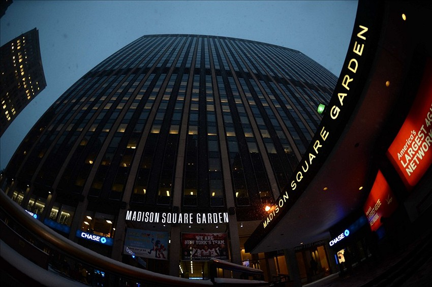 New York Knicks Madison Square Garden Draws Rave Reviews