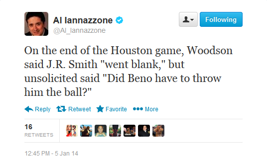 woodson tweet jr beno