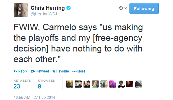 herring melo free agency