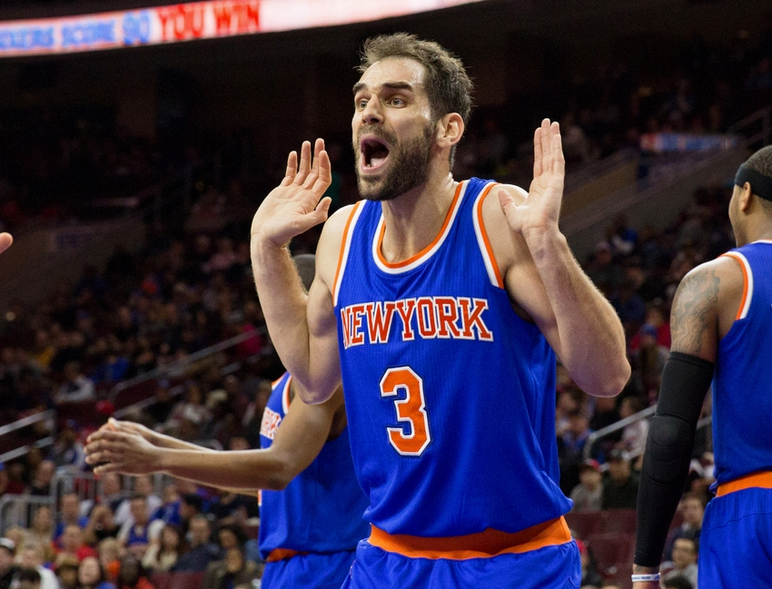 Calderon was expected to provide leadership and poise to a playoff bound Knicks team.