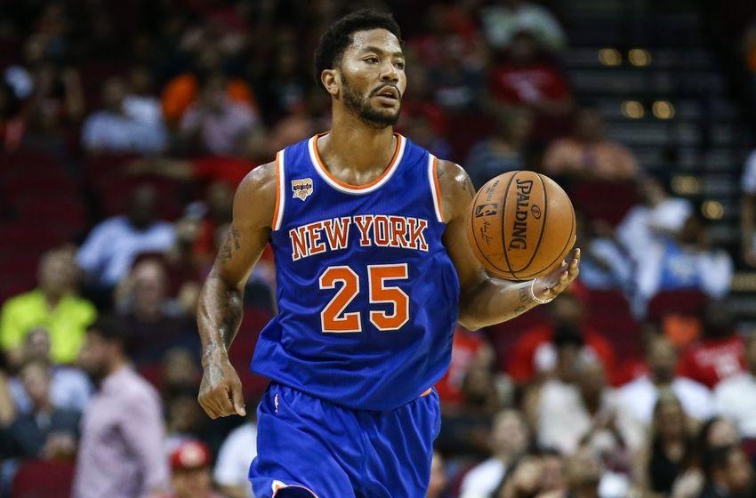 New York Knicks: Derrick Rose Chasing Championship Dreams