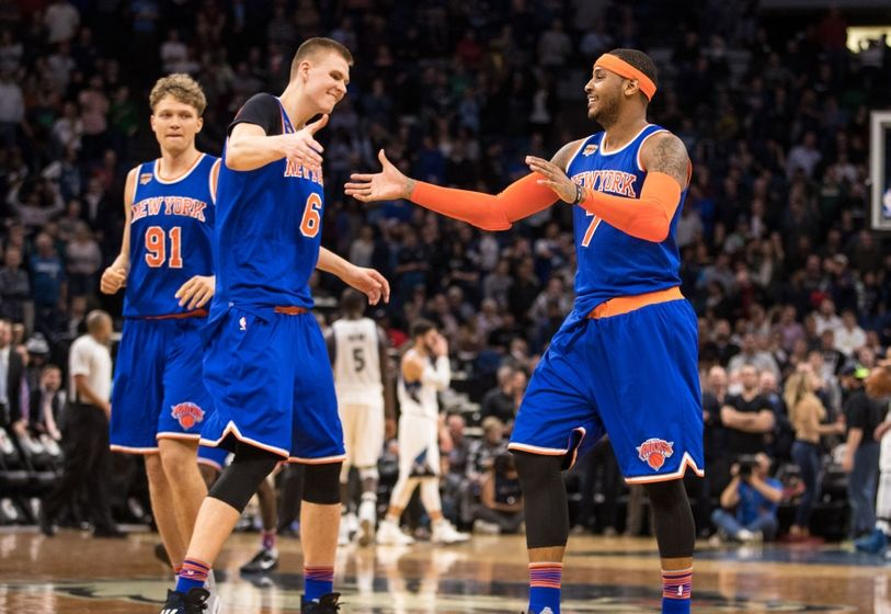 New York Knicks: Kristaps Porzingis Dreaming Of First Game ...