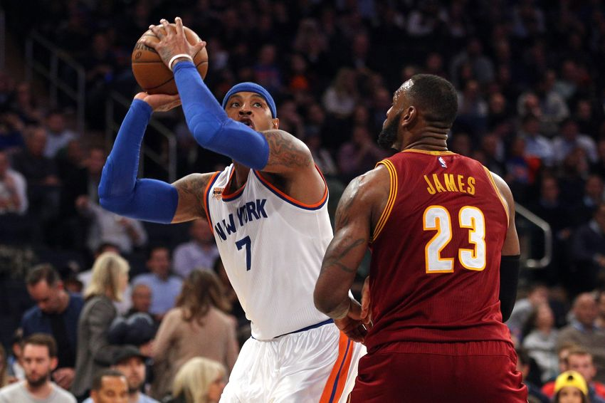 Carmelo Anthony Wants To Remain In New York