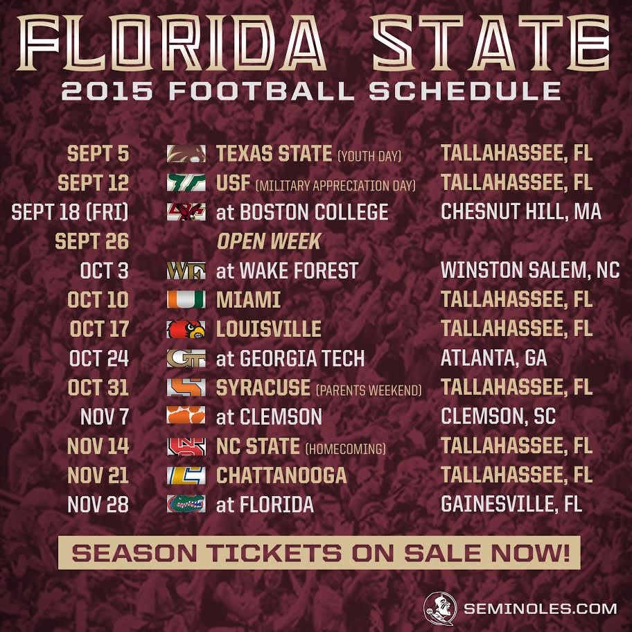 first day of football season college football 2015 schedule