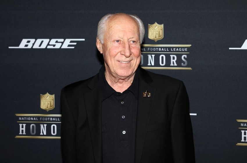 Feb 6, 2016; San Francisco, CA, USA; NFL Hall of Fame member Fred Biletnikoff on the red carpet prior to the NFL Honors award ceremony at Bill Graham Civic Auditorium. Mandatory Credit: Mark J. Rebilas-USA TODAY Sports