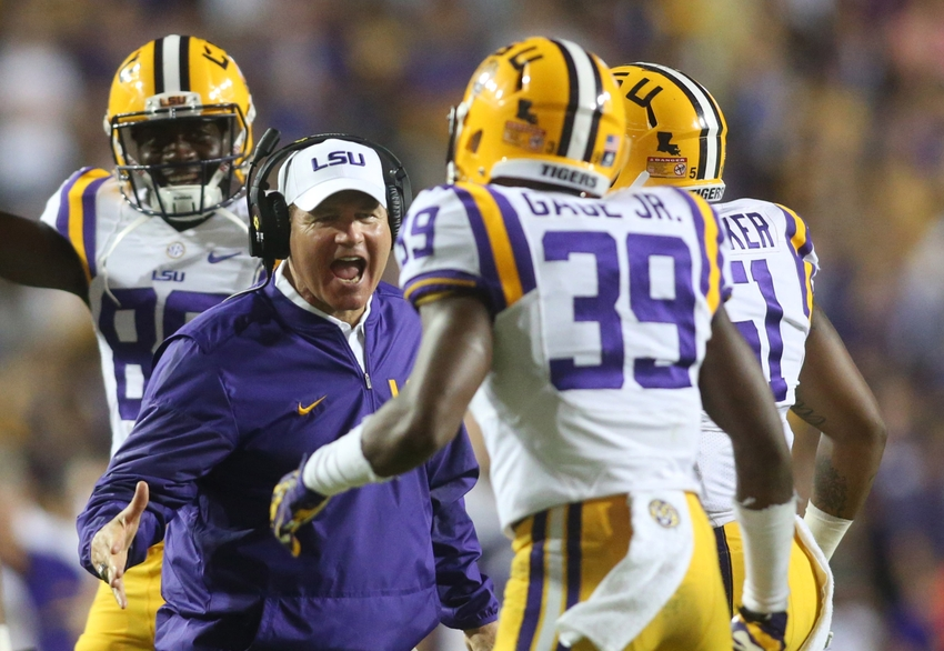 Les Miles: LSU drops axe on Les Miles after 2-2 start