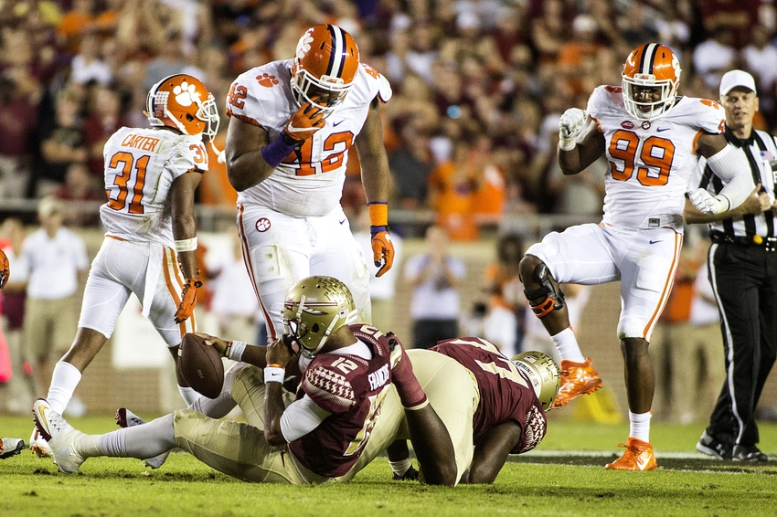 Clemson survives vs. Florida State on day 4 unbeaten teams lose