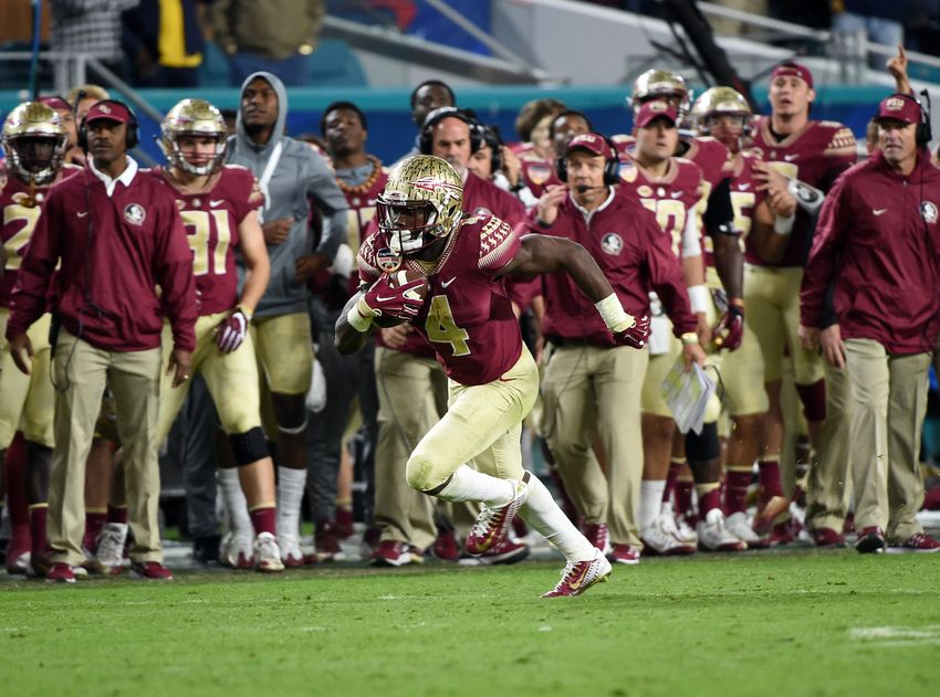 Florida State running back Dalvin Cook announces he'll enter 2017 National Football League draft