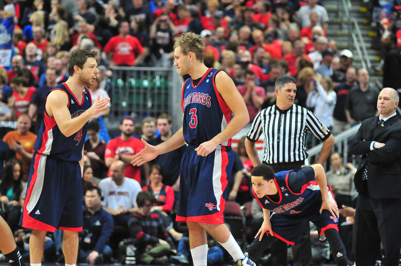 In their four years at Saint Mary's, Young and Dellavedova elevated the Gaels to a premier mid-major. (courtesy of Andrew Nguyen).