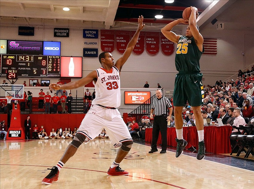 NCAA Basketball: San Francisco at St. John