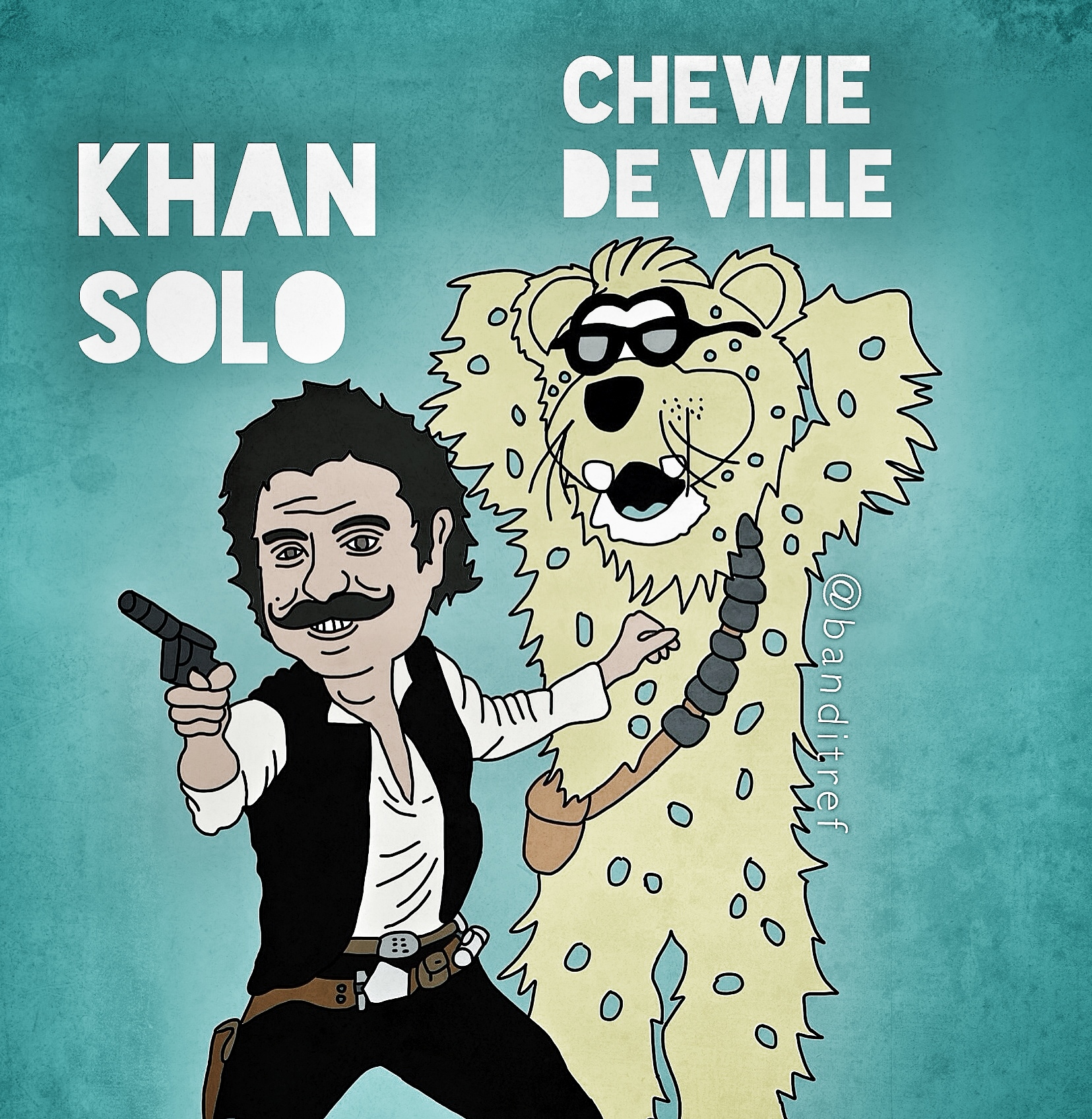 Khan-Solo-and-Chewie-De-Ville