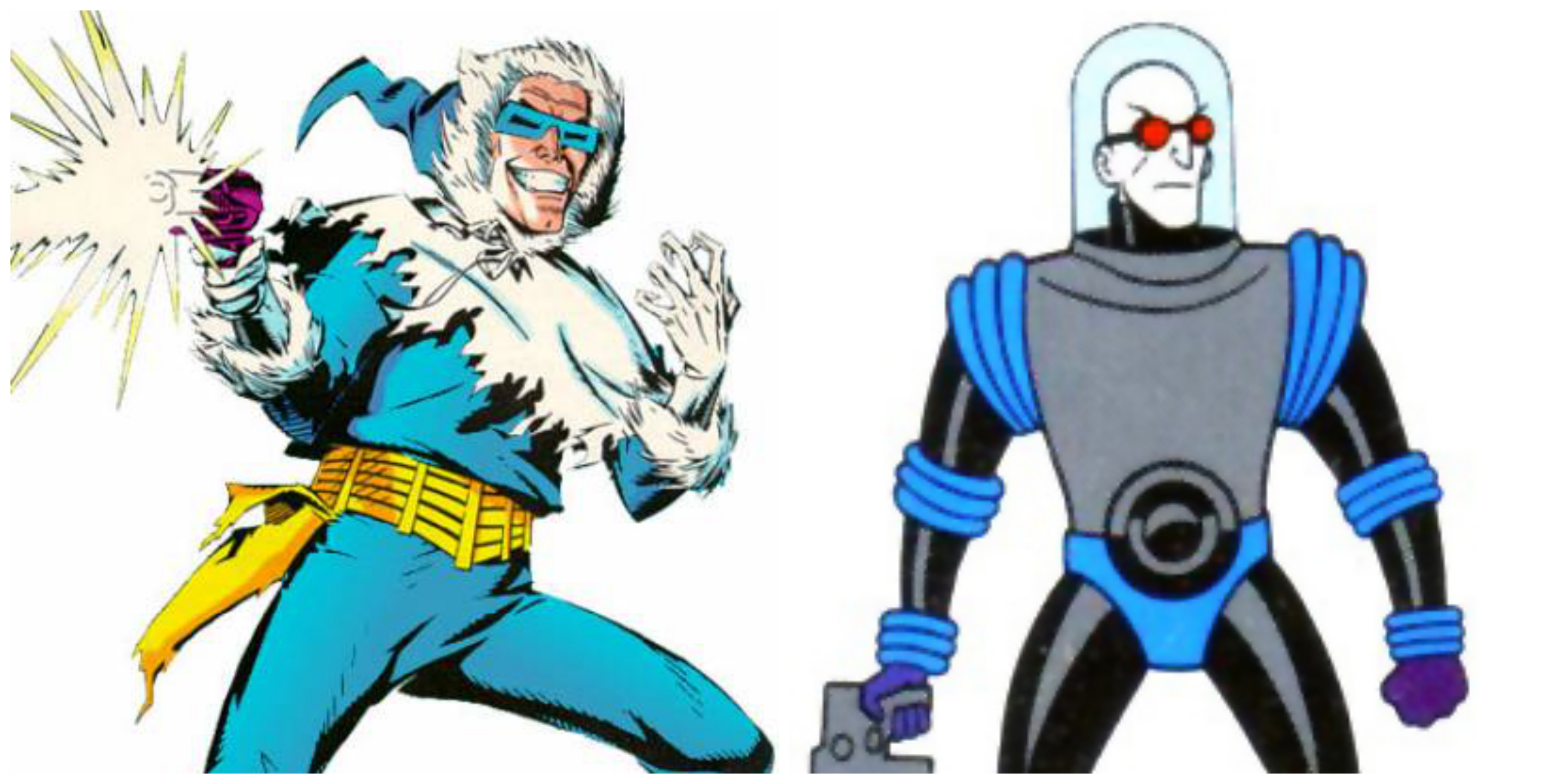 Captain Cold vs Mr Freeze