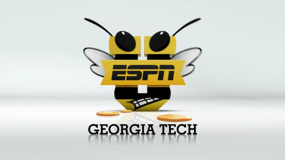 Georgia Tech ESPNU logo