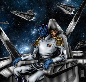 Grand Admiral Thrawn by DR-Husar