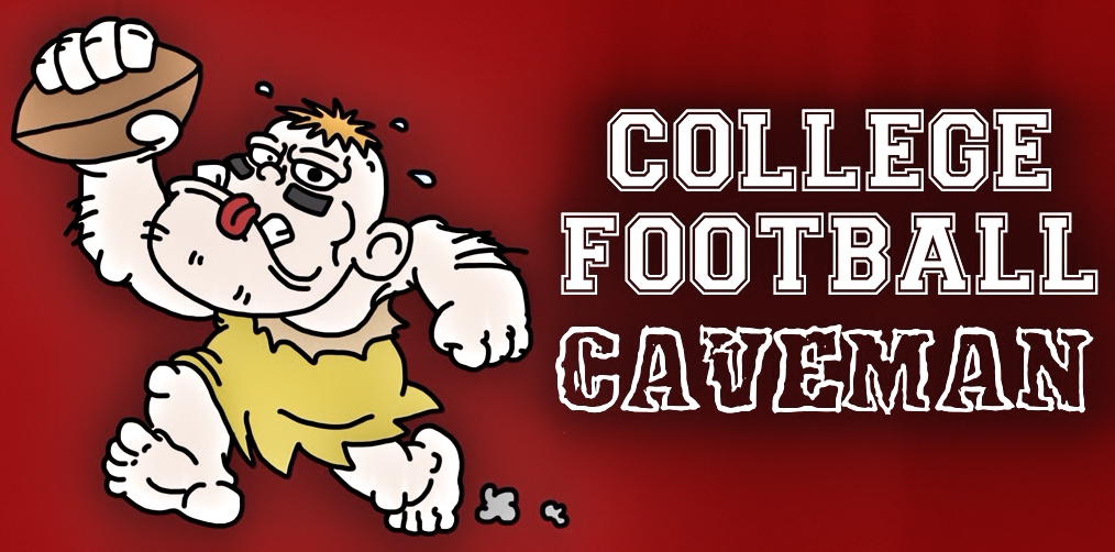 College Football Caveman