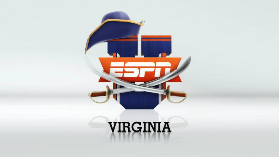 Virginia ESPNU logo
