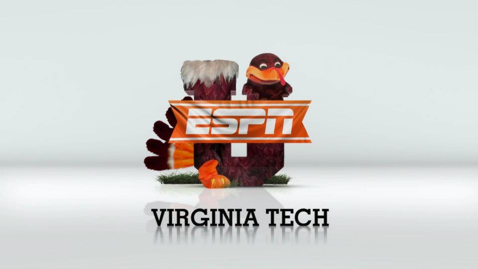 Virginia Tech ESPNU logo