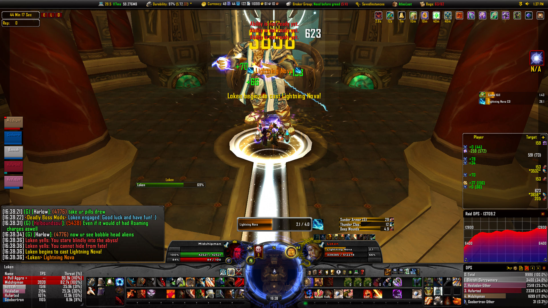 World of warcraft ui addons the best