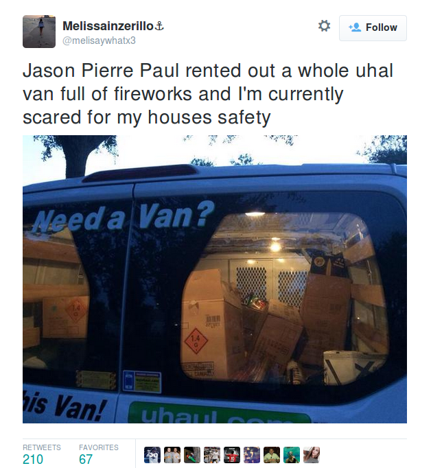 Jason Pierre Paul Now: Jason Pierre-Paul May Have Blown Fingers Off On July 4th