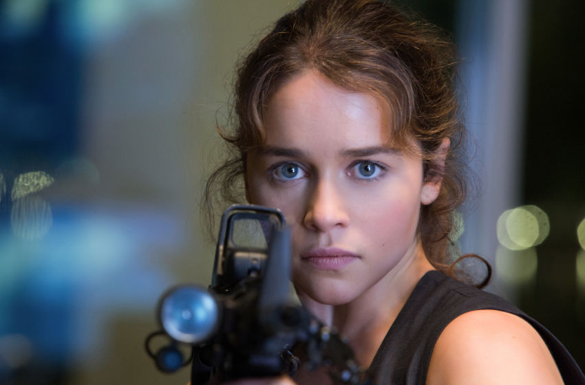 Emilia clarke wisely bows out of all future terminator films - Sarah connor genisys actress ...
