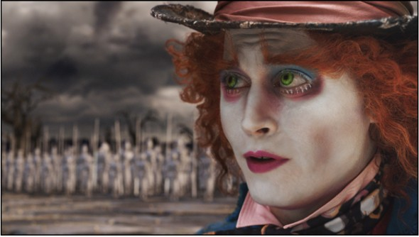 The Mad Hatter (JOHNNY DEPP)