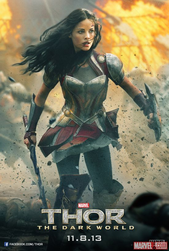 thor-the-dark-world-jaimie-alexander-poster
