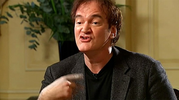 Tarantino looses cool with Krishnan Guru-Murthy