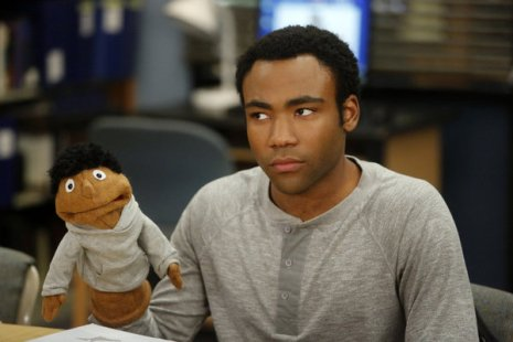 "COMMUNITY -- ""Intro To Felt Surrogacy"" Episode 413 -- Pictured: Donald Glover as Troy -- (Photo by: Vivian Zink/NBC)"