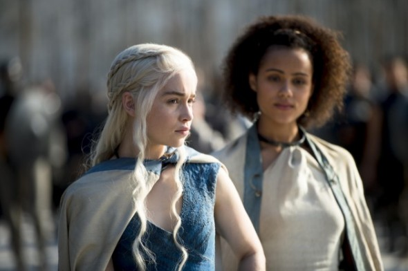Emilia-Clarke-as-Daenerys-Targaryen-Nathalie-Emmanuel-as-Missandei_photo-Macall-B.Polay_HBO-630x419