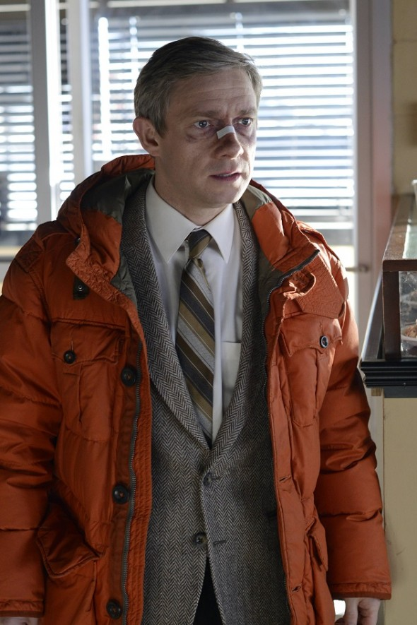 FARGO - Pictured: Martin Freeman as Lester Nygaard . CR: Chris Large/FX