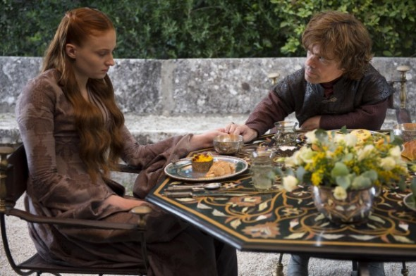 Sophie-Turner-as-Sansa-Stark-Peter-Dinklage-as-Tyrion-Lannister_photo-Macall-B.Polay_HBO-630x419