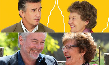 Philomena: Martin Sixsmith and Philomena Lee in real life and as played by Steve Coogan & Judi Dench