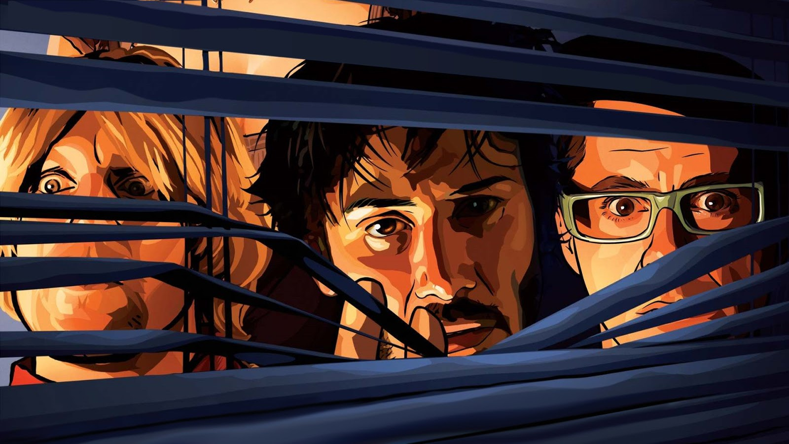 """A Scanner Darkly"", featuring Keanu Reeves."