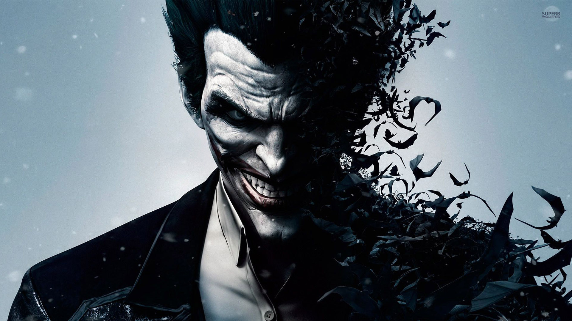 Batman arkham origins joker batman 9