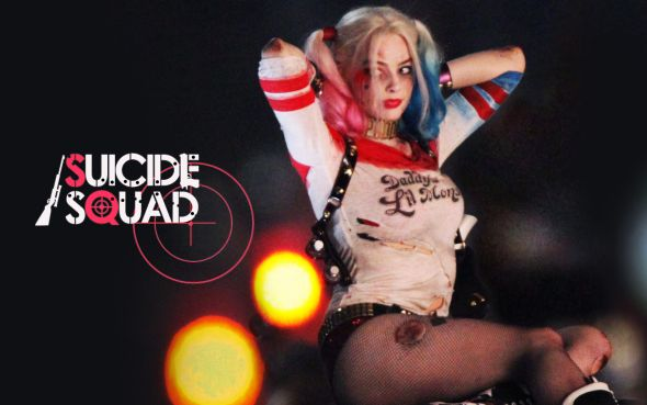 Margot Robbie As Harley Quinn Wallpaper: Black Widow Gets Big Payday For Ghost In The Shell