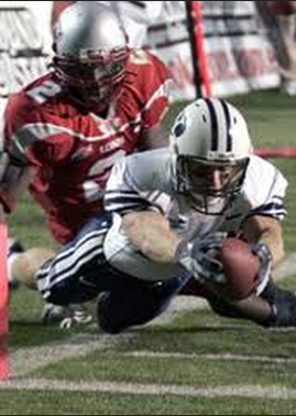 Matt Allen scores game winning touchdown at New Mexico in 2005