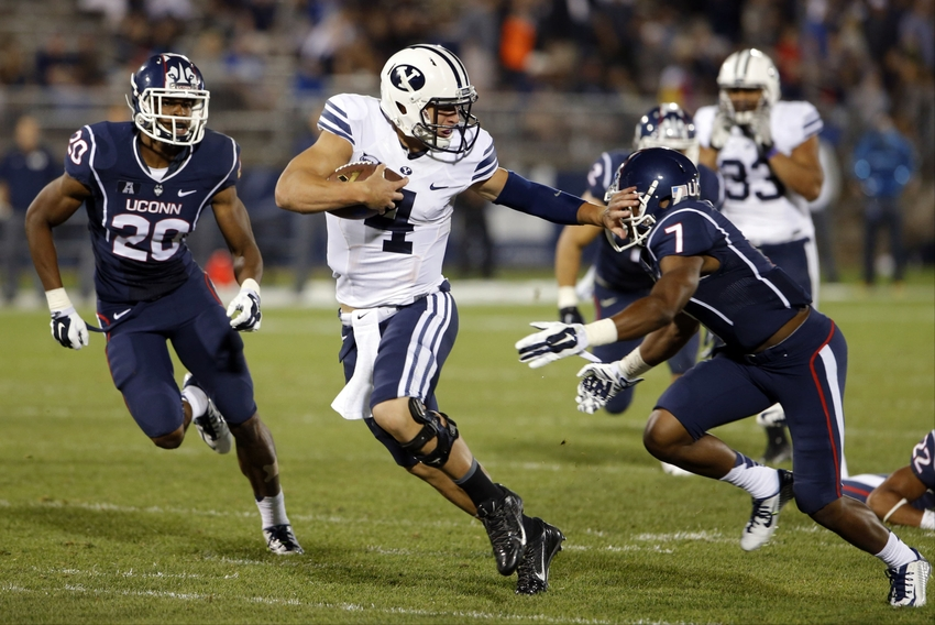 I love how Taysom strikes his Heisman poses to get to the ...