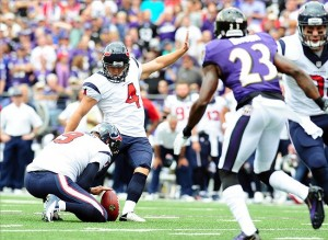 NFL: Houston Texans at Baltimore Ravens