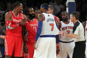 NBA: Houston Rockets at New York Knicks