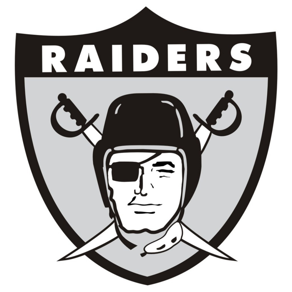 How the oakland raiders got their logo and colors just for Oakland raiders logo coloring page