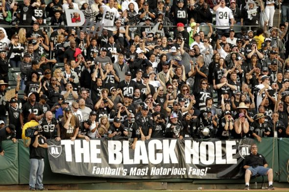 The Official Oakland Raiders Bandwagon Test
