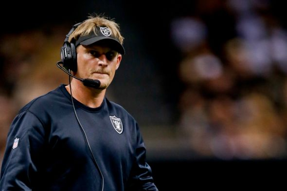 Raiders Defensive Coordinator Jason Tarver