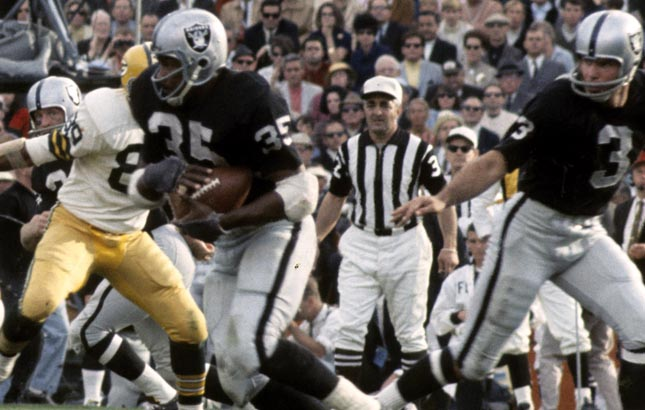 Top 10 Running Backs In Oakland Raiders History Page 4